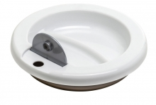 Rotho Warming plate taupe pearl