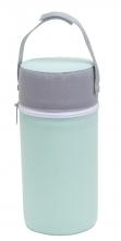 Rotho warming box für bottles swedish green/weiß/silber