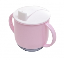Rotho rocking cup tender rosé/white/silvergrey