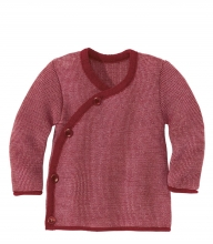 Disana Melange jacket 50/56 bordeaux-rose