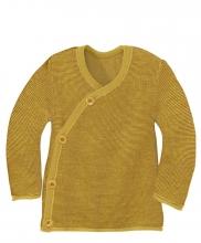 Disana Melange jacket 74/80 curry-gold
