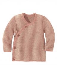 Disana Melange jacket 86/92 rose-nature