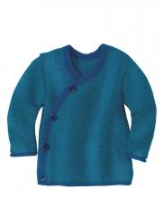 Disana Melange jacket 86/92 navy-blue