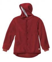 Disana boiled wool jacket 62/68 bordeaux
