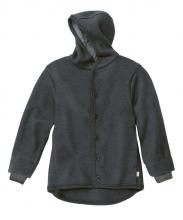 Disana boiled wool jacket 74/80 anthrazit