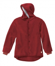Disana boiled wool jacket 74/80 bordeaux