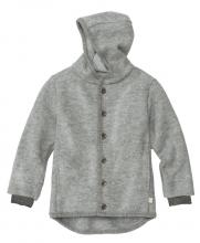 Disana boiled wool jacket 86/92 grey