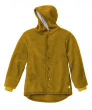 Disana boiled wool jacket 86/92 gold
