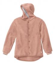 Disana boiled wool jacket 74/80 rose