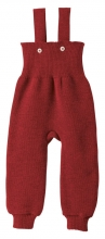 Disana knitted trousers 86/92 bordeaux
