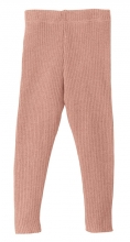 Disana bio merino lamb wool legging 50/56 rose
