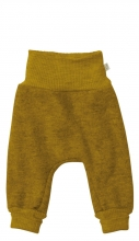 Disana bio merino lamb wool bloomers 74/80 gold