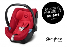 Cybex ATON 5 Rebel Red