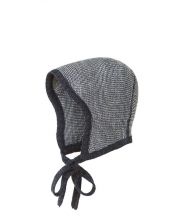 Disana knitted hood Gr.0 anthracite