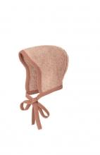 Disana knitted hood Gr.0 rose-natur