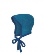 Disana knitted hood size 1 marine