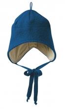 Disana boiled wool hat size 1 marine