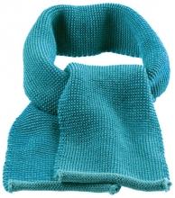 Disana wool melange scarf lagoon-blue