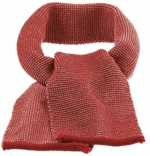 Disana wool melange scarf bordeaux-rosé