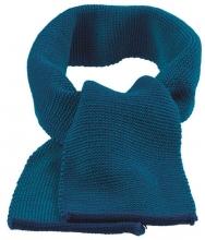 Disana wool melange scarf marine-blue
