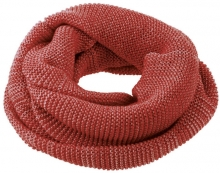 Disana wool loop scarf size 1 bordeaux-rosé