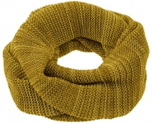 Disana wool loop scarf size 2 curry-gold