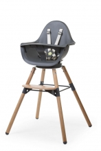 Childhome Evolu ONE.80 wood/anthracite