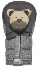 Odenwälder sleeping bag Mucki L Fashion Glencheck coll. 19/20 graphite