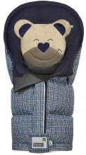 Odenwälder sleeping bag Mucki L Fashion Glencheck coll. 19/20 ink blue