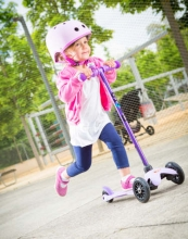 Micro MM 0136 Mini Kickboard® sporty candy purple