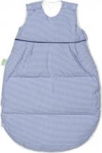 Odenwälder Thermo-Nest® sleeping bag down vichy-karo coll. 19/20 110 cm marine