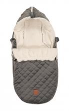 Kaiser Baby carseat footmuff Velvet Hoody coll. 19/20 grey
