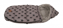 Kaiser Baby carseat footmuff Hoody Star Print coll. 19/20 grey
