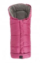Kaiser Jooy footmuff micro fleece pink/light grey