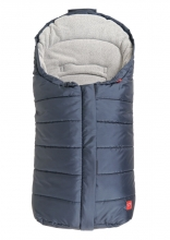Kaiser Pauline baby carrier footmuff fleece navy