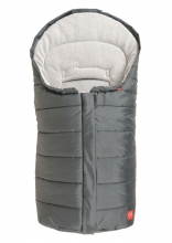 Kaiser Pauline baby carrier footmuff fleece anthracite