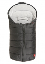 Kaiser Pauline baby carrier footmuff fleece black