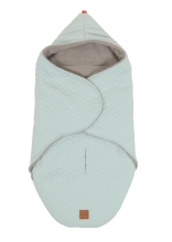 Kaiser Wrappy Wrap blanket Knit Design super soft mint