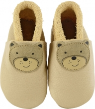 Sterntaler Leather baby-bootees 17/18 beige