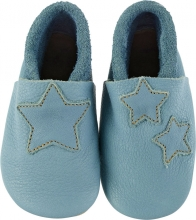 Sterntaler Leather baby-bootees 17/18 blue
