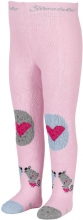 Sterntaler crawling tights Mouse size 74 rose