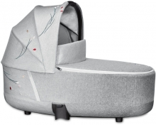 Cybex Priam Lux Carrycot Koi mid grey - without frame