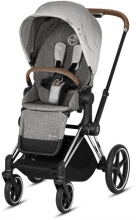 Cybex Priam Koi mid grey incl. frame and seat with sun canopy