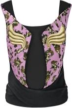 Cybex Platinum YEMA TIE Cherubs pink by Jeremy Scott black