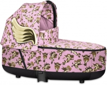 Cybex Priam Lux Carrycot Cherubs pink by Jeremy Scott - without frame
