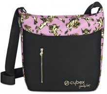 Cybex Platinum Changing bag Cherubs pink by Jeremy Scott