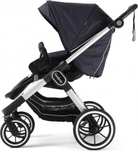 Emmaljunga NXT90F Lounge Navy Eco including carrycot