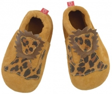 Anna and Paul suede toddler shoe Sweetheart rose with leather sole size M-20/21