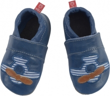 Anna and Paul leather toddler shoe airscrew with leather sole size S-18/19