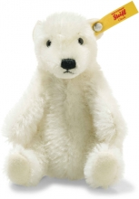 Steiff 026690 Wildlife Giftbox Polar Bear Mohair white